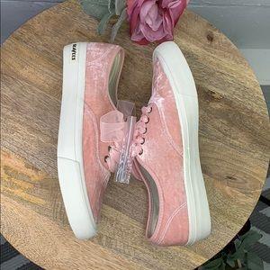 SeaVees for J Crew Legend Sneakers in Velvet pink